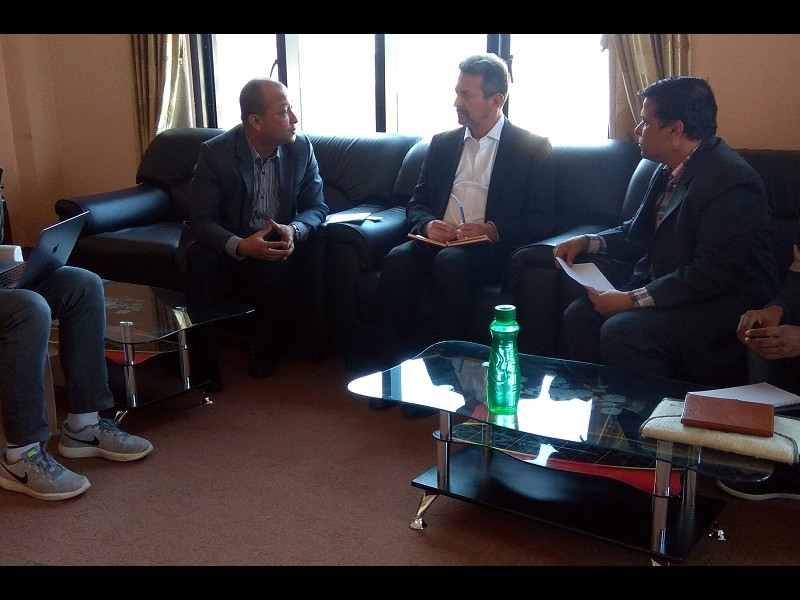 FNJ Meeting with EU Nepal Representative