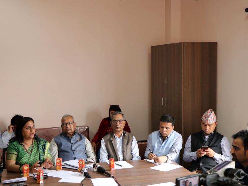 संसद्मा दर्ता भएको नेपाल मिडिया काउन्सिल विधेयकका बारे सांसदहरुसंग छलफल आयोजना